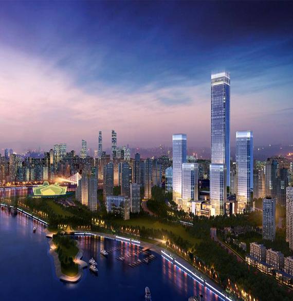 城市综合体商业楼宇无线对讲系统工程案例